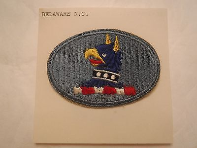 Delaware State U. S. Army National Guard Embroidered Military Patch