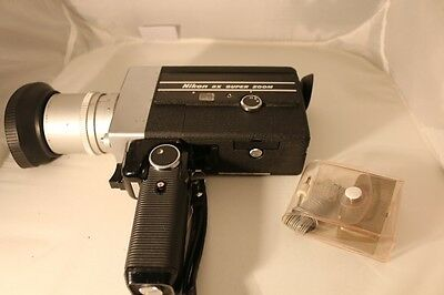 Vintage Nikon 8mm 8X Super Zoom Film Movie Camera