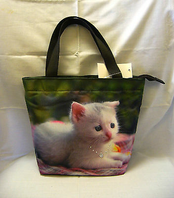 Cat Kitten Pet Purse Handbag Hand Bag BAG292 NEW