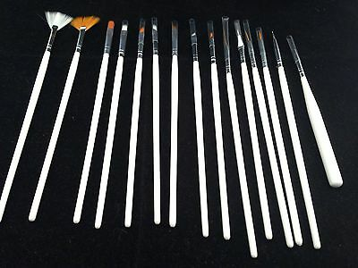 Hobby and Warhammer Painting Fine Detail Brushes - Set of 15!