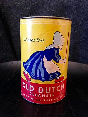 Vintage 3-Inch Old Dutch Cleanser Can Sealed