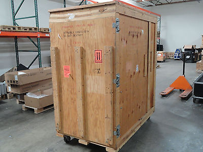 Large Professionally Built Shipping/Road Crate on Casters with Ramp