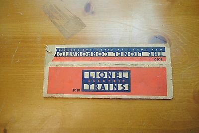 Lionel 1019 Observation Car Box Only