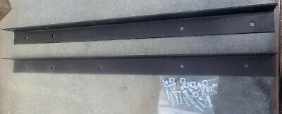 Kit to Extend Antique Iron Bedrail to Custom or Modern Length