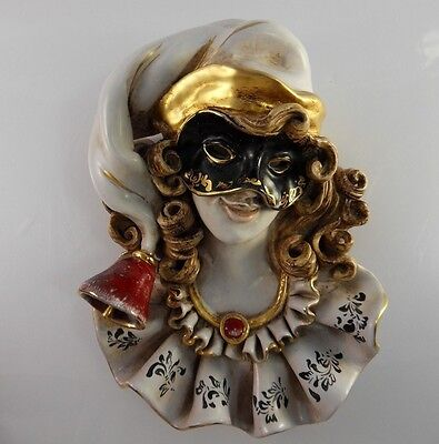 Clay Art Deco Wall Mask EXTREMELY RARE!!!
