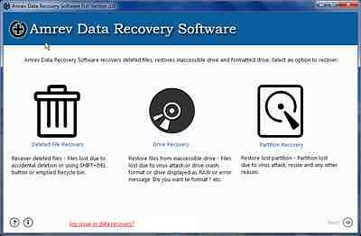 Data Recovery Software - Recover Deleted Files - Data Recovery Lost Files