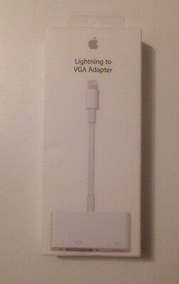 Apple Lightning to VGA Video Adapter for iPhone 5 5c 5s 6 6 plus