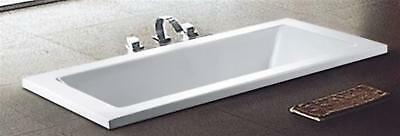 1500 / 1700 / 1800mm Drop In Inset Acrylic Bath Tub Cube Square Design*750/800*4