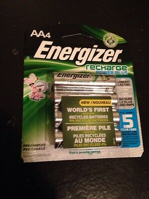 ENERGIZER RECHARGEABLE NI-MH AA BATTERY 2300 mAH 4-PACK