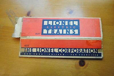 Lionel 637 2-6-4 Locomotive Box Only