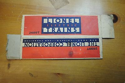 Lionel 2689T Tender Box Only