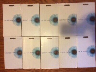 1984 class set of 10 paperback lot by George Orwell Nineteen Eighty Four
