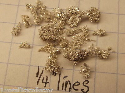 2.500 Grams of CRYSTALLINE SILVER NUGGETS 99.999% pure - Must See