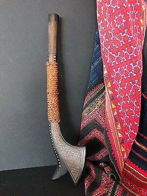 Old Fijian Carved Wooden Club …beautiful collection piece
