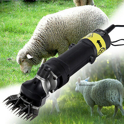 320w Sheep & Goat Clipper 110v Electric Shearing Machine 2400RPM with Blade