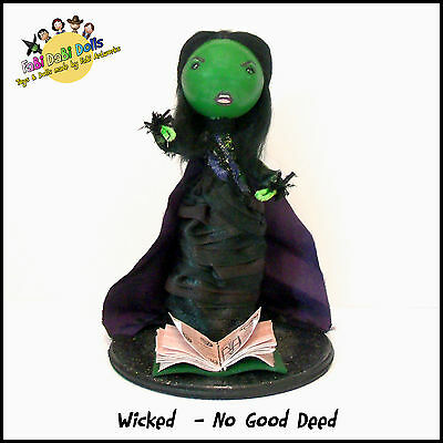 No Good Deed Elphaba - WICKED the musical FaBi DaBi Doll
