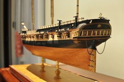 HMS Surprise Scale 1/75 925mm 36.4'' Wooden Model Ship Kits Free Post