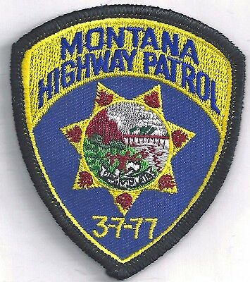 Montana Highway Patrol - Crest Iron / Sew On Patch