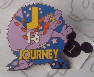 Epcot Parking Signs with Figment Journey Cast Lanyard Disney Pin Buy 2 Save $