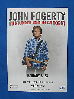 """John Fogerty-""""2016 Tour Magazine Ad"""" Creedence Clearwater Revival-Swamp Rock"""