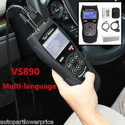 Car SUV Fault Code Reader Multi-language VS890 Tool OBD2 Diagnostic Scanner 2016