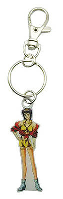 **License** Cowboy Bebop Metal Keychain Bounty Hunter SD Faye Valentine #85312