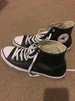 Chuck Taylor All Star Leather High Top - Size 11