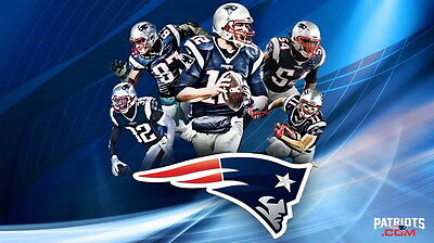 "034 Tom Brady - New England Patriots Super Bowl MVP NFL Player 24""x14"" Poster"