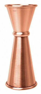 Jigger Japonés Cobre 25ml/35ml y 50ml - Japanese Copper Jigger