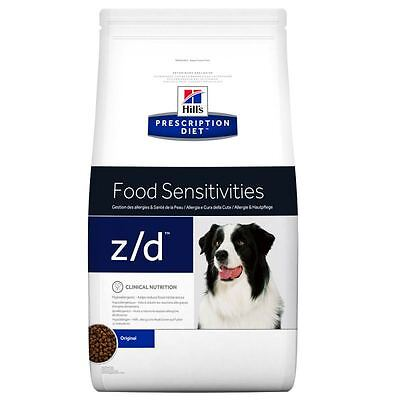 2 conf.di  Hill's z/d Prescription Diet Canine Food Sensitivities - secco Kg 10