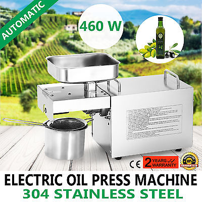 Automatic Oil Press Machine Oil Extractor Sesame Seeds Homemade Oil Nut Seed