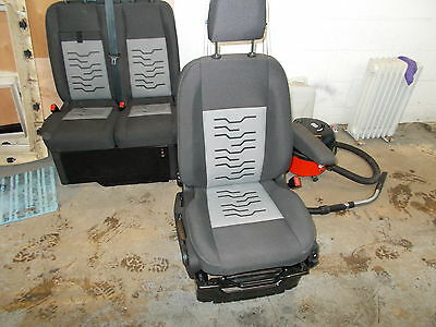 Ford Transit Custom Minibus Heated Front Seats 2015 Complete with Drivers seat