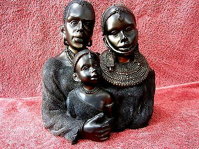 African  Family  Bust/figurine