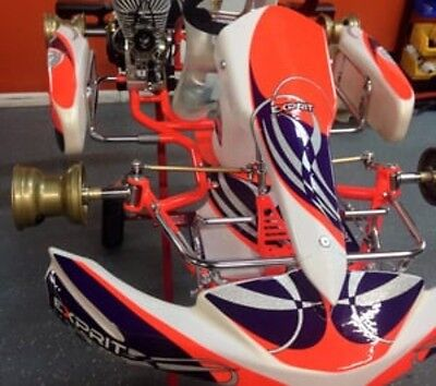 Go Kart The All New 2017 OTK Neos Cadet Exprit Tonykart Rolling Chassis Iame