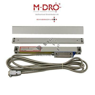 """Easson - 100mm (4"""") Reading Length Optical Linear Encoder DRO Scale Lathe Mill"""