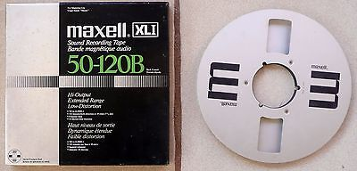 "1 x MAXELL Vintage 10.5"" Empty NAB Reel-to-Reel Spool with box"