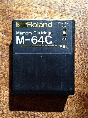 Carte mémoire Memory Cartridge Roland M-64c