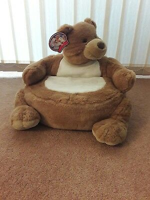 Singing Bear Soft Chair for Kids