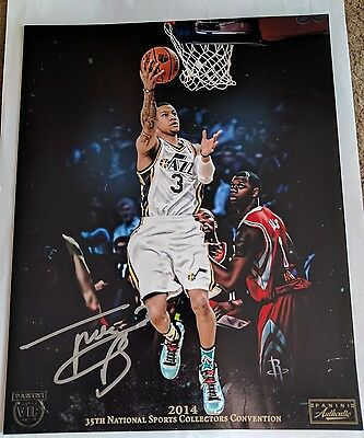 Trey Burke 2014 National Convention Panini Authentic Signed Photo