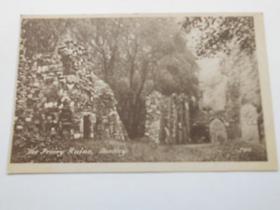 Vintage Postcard The Priory Ruins Dudley West Midlands Worcestershire Unposted