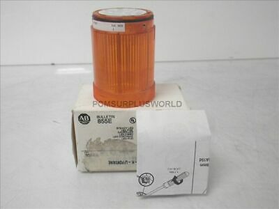 855E-24TL5 Ser A Allen Bradley Steady Led Amber 24V No Light Bulb (New)