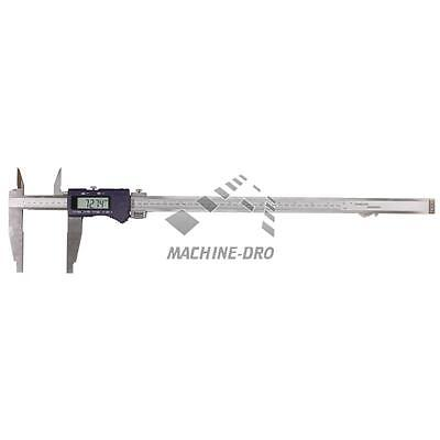 "600mm 24"" Digital Vernier Caliper Jaw Capacity Hardened Stainless Steel"