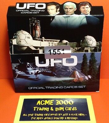 Gerry Anderson UFO Unstoppable Cards - EMPTY BOX ONLY