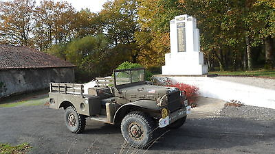 Dodge WC 51-French registered-excellent condition with lots of paperwork
