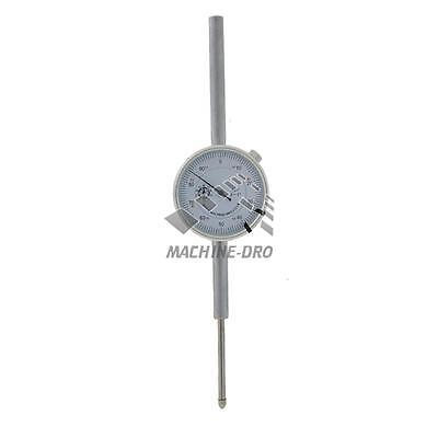 """2"""" Inch Dial Indicator Plunger Gauge Imperial DTI Machine-DRO Lug-Back Gage"""