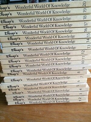 Walt Disney Productions 1973 Wonderful World Of Knowledge - Complete Set