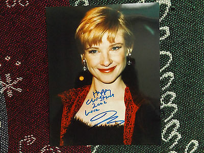 "HAND SIGNED 10"" x 8"" PHOTO + COA - JANE HORROCKS"
