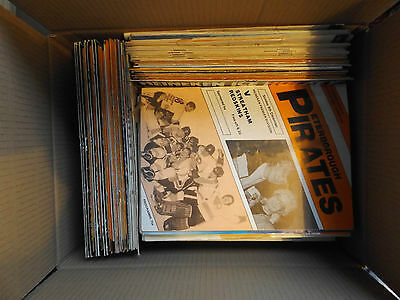 Large Collection Of 180 Ice Hockey Programmes - Peterborough Pirates