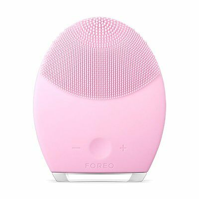 FOREO LUNA 2 for Normal Skin Pearl Pink Facial Cleansing Brush **SEALED**