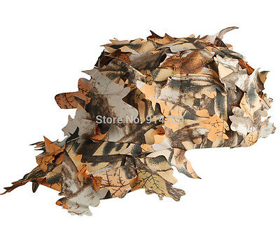 3d Camo Real Tree Active Camouflage Hunting Airgun Fishing Leaf Cap Hat UK